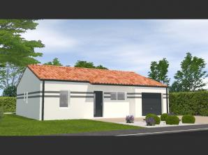Maison neuve à Saligny (85170)<span class='prix'> 189400 €</span> 189400