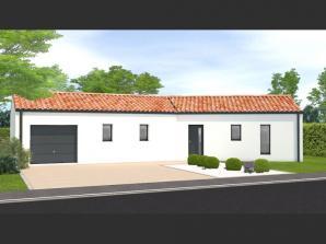 Maison neuve à Saligny (85170)<span class='prix'> 171400 €</span> 171400