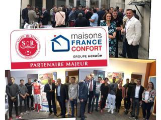 Rencontre entre nos partenaires et l'équipe du Stade de Reims