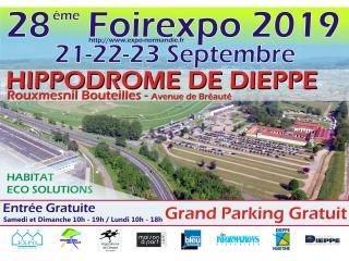 FOIREXPO de Dieppe (76) du 21 au 23 septembre 2019