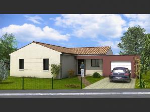 Maison neuve à Challans (85300)<span class='prix'> 225680 €</span> 225680