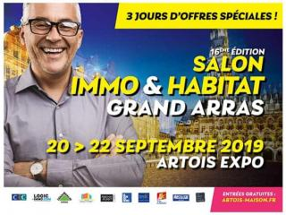 Salon Immo et Habitat Grand Arras (62) du 20 au 22 septembre 2019