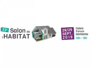 Salon de l'Habitat de Calais (62) les 28/29 septembre 2019
