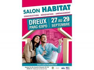 Salon de l'Habitat de Dreux (28) du 27 au 29 septembre