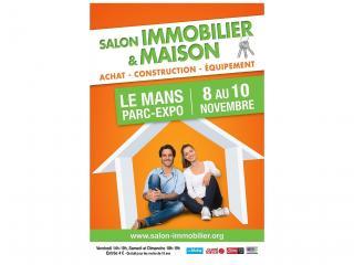 Salon de l'immobilier du Mans (72) du 08 au 10 novembre 2019