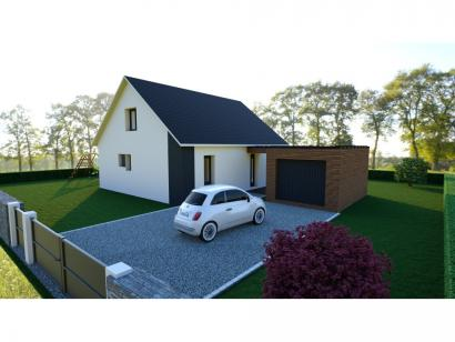 Modèle de maison PYRENEA 1 2 chambres  : Photo 1