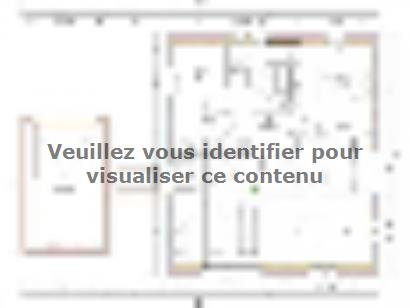 Plan de maison PYRENEA 1 2 chambres  : Photo 1