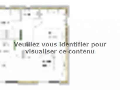 Plan de maison PYRENEA 4 4 chambres  : Photo 2