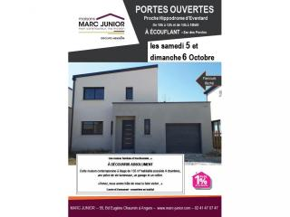 Visitez un Maison Marc Junior à Eventard commune d'Ecouflant