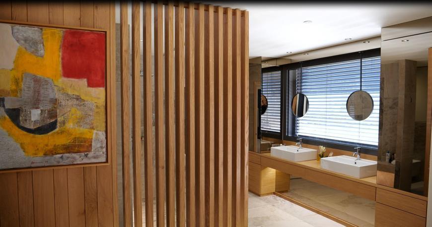 Construction d'une extension - Détails sur Salle de bains