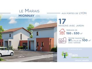Programme immobilier neuf à Mionnay (01) !