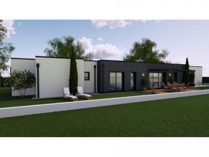 Modèle de maison Vente maison neuve 3 chambres - Les Villas de LA C 3 chambres  : Photo 1