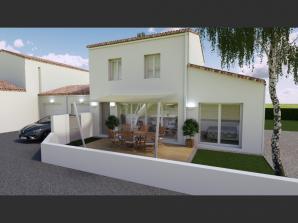 Vente maison neuve 3 chambres - Les Villas de LA P