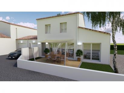 Modèle de maison Vente maison neuve 3 chambres - Les Villas de LA P 3 chambres  : Photo 1