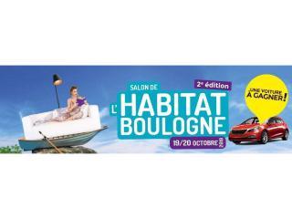 Salon de l'Habitat de Boulogne sur Mer (62) les 19 et 20 octobre