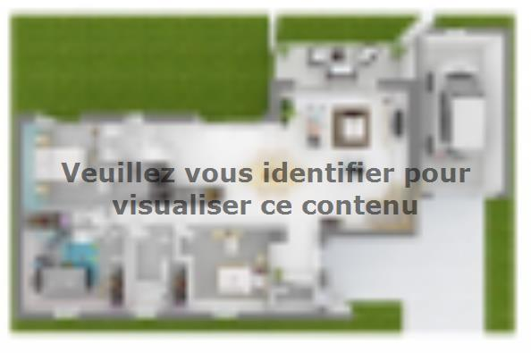 Plan de maison Bioclima 125 Tradition 4 chambres  : Photo 3