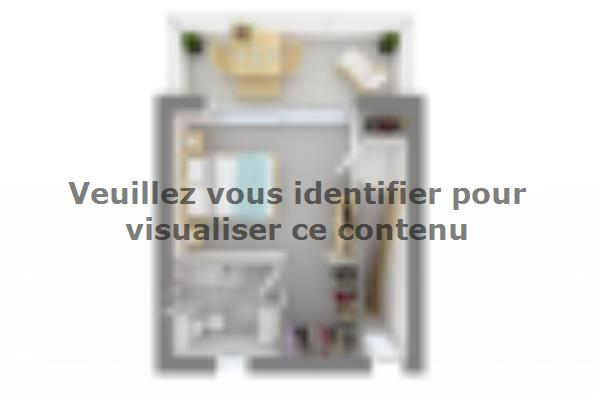 Plan de maison Bioclima 125 Tradition 4 chambres  : Photo 4