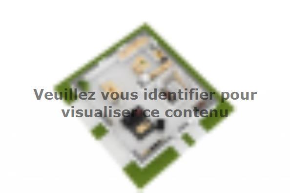Plan de maison Domania 90 SS Tradition 3 chambres  : Photo 6