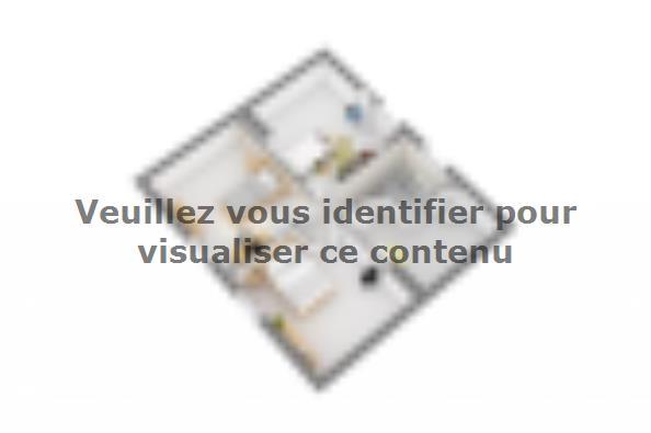 Plan de maison Domania 90 SS Tradition 3 chambres  : Photo 7