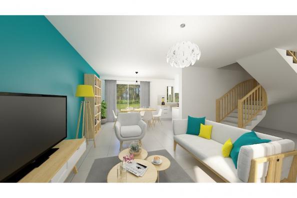 Modèle de maison Family 90GA Design 3 chambres  : Photo 3