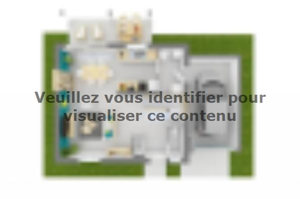 Plan de maison Family 90GA Design 3 chambres  : Photo 3