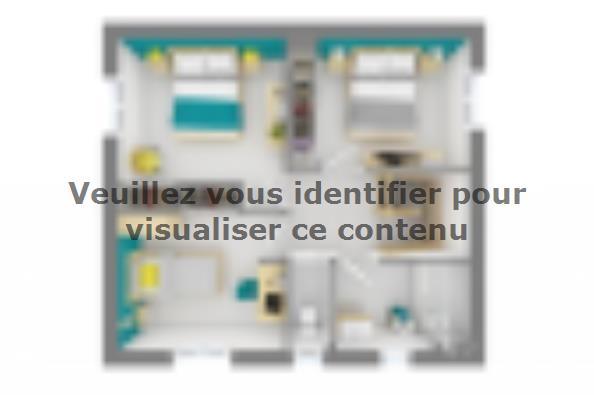Plan de maison Family 90GA Design 3 chambres  : Photo 4
