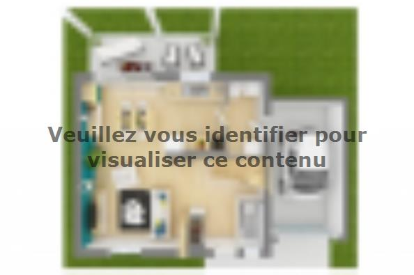 Plan de maison Family 95GA Tradition 3 chambres  : Photo 3