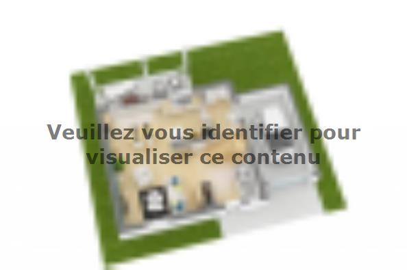 Plan de maison Family 95GA Tradition 3 chambres  : Photo 5