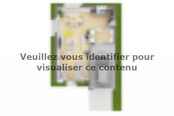 Plan de maison Family 100GI Design 4 chambres  : Photo 3