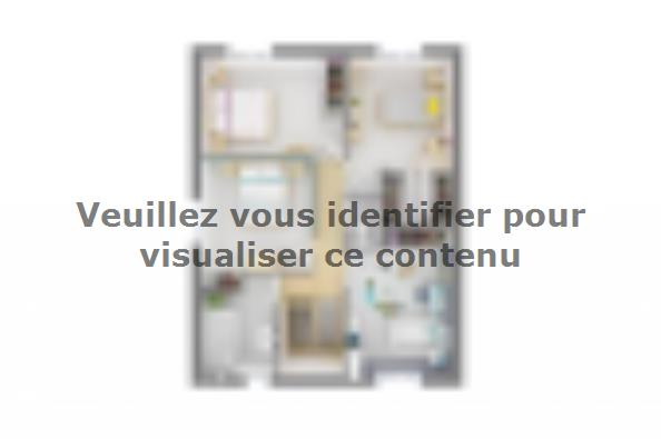 Plan de maison Family 100GI Design 4 chambres  : Photo 4