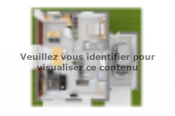 Plan de maison Family Evolution 100GA Tradition 4 chambres  : Photo 3