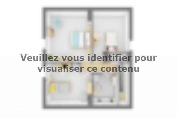 Plan de maison Family Evolution 110GA Tradition 4 chambres  : Photo 3