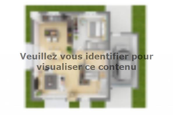 Plan de maison Family Evolution 110GA Tradition 4 chambres  : Photo 4