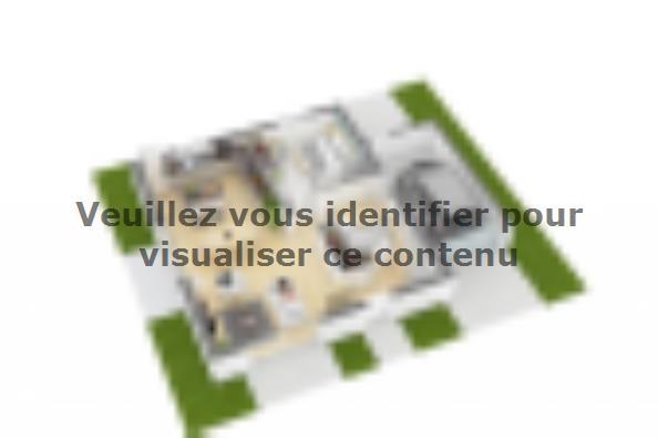 Plan de maison Family Evolution 110GA Tradition 4 chambres  : Photo 5