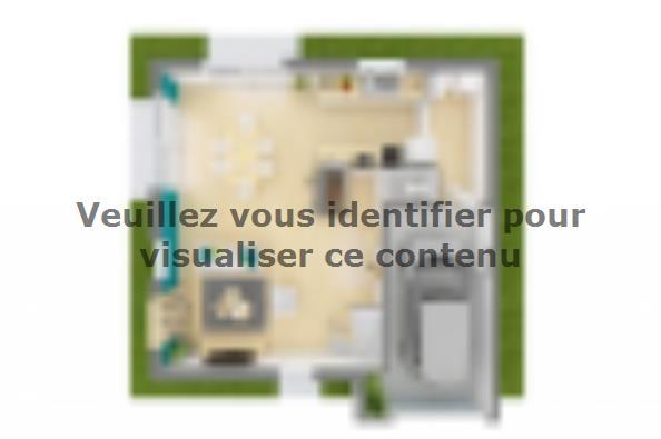 Plan de maison Family Evolution 95GI Tradition 3 chambres  : Photo 4