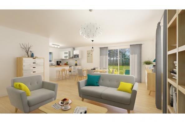 Modèle de maison Lumina 90GI Design 3 chambres  : Photo 3