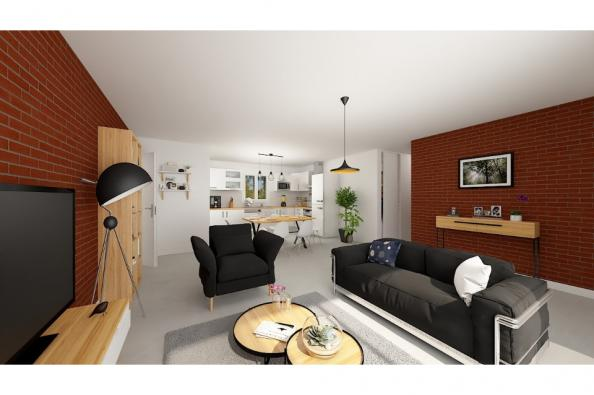 Modèle de maison Optima 100GA Tradition 4 chambres  : Photo 3