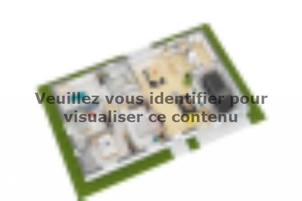 Plan de maison Optima 103GA Design 4 chambres  : Photo 3