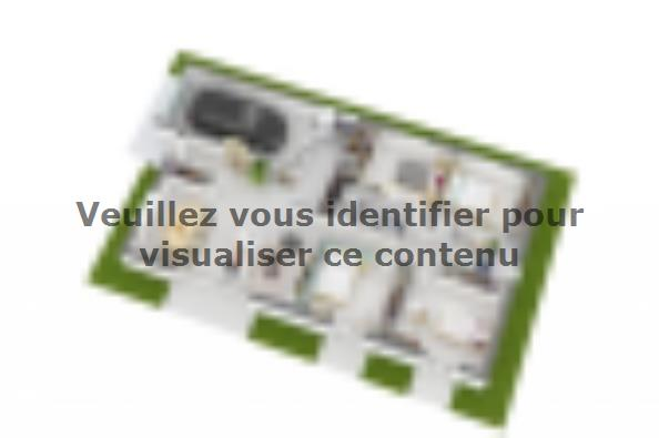Plan de maison Optima 100GI Design 4 chambres  : Photo 3