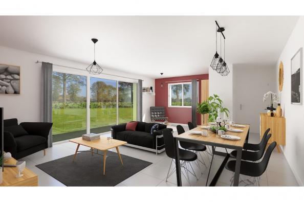 Modèle de maison Optima 110GI Design 4 chambres  : Photo 3