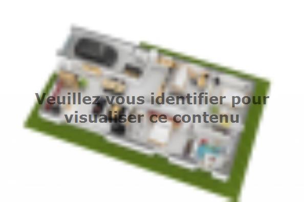 Plan de maison Optima 110GI Design 4 chambres  : Photo 3