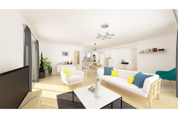 Modèle de maison Patio 120 Design 3 chambres  : Photo 3