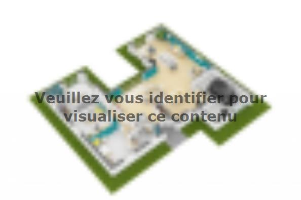 Plan de maison Patio 140 Design 3 chambres  : Photo 3