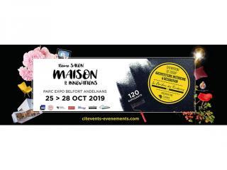 Salon Maison & Innovations du 25 au 28 Octobre à BELFORT