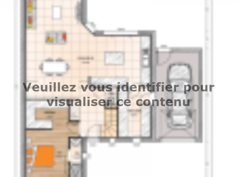 Plan de maison R1MP19132-4GA : Vignette 1