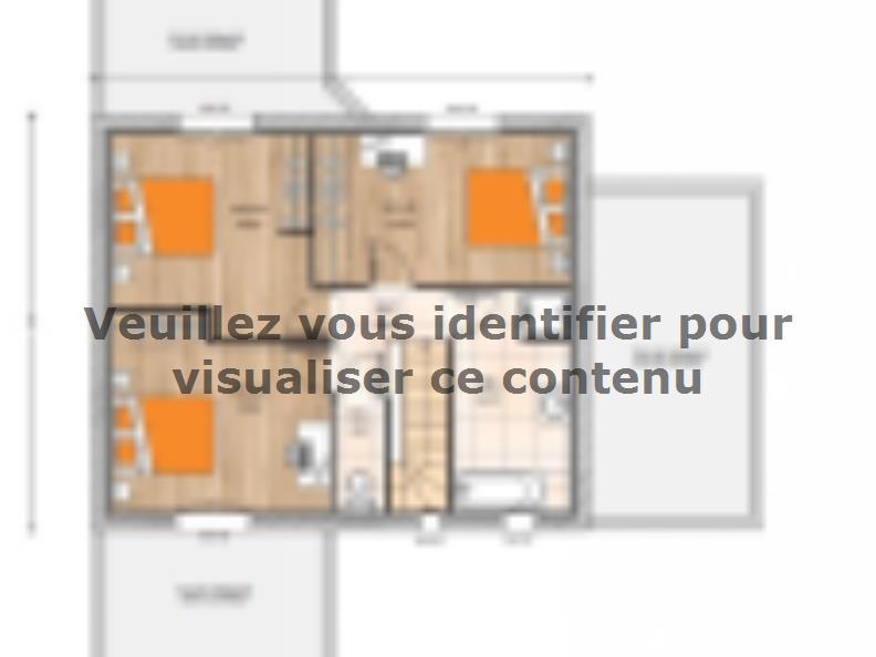 Plan de maison R1MP19132-4GA : Vignette 2