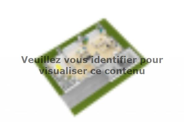 Plan de maison Bioclima 110 Design 4 chambres  : Photo 5