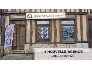 Nouvelle agence Maisons France Confort Les Andelys (27)