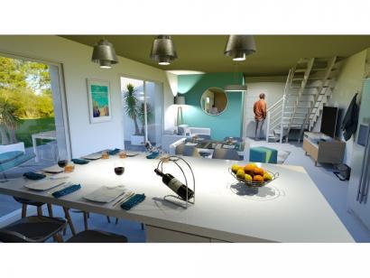 Modèle de maison Vente maison neuve 3 chambres - Les Villas de LA P 3 chambres  : Photo 2