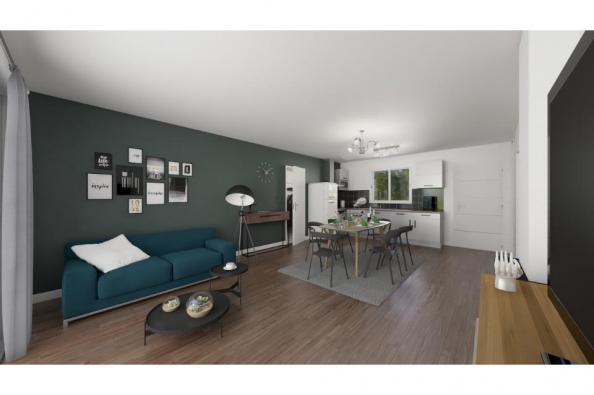 Modèle de maison Actua 83 3 chambres  : Photo 3